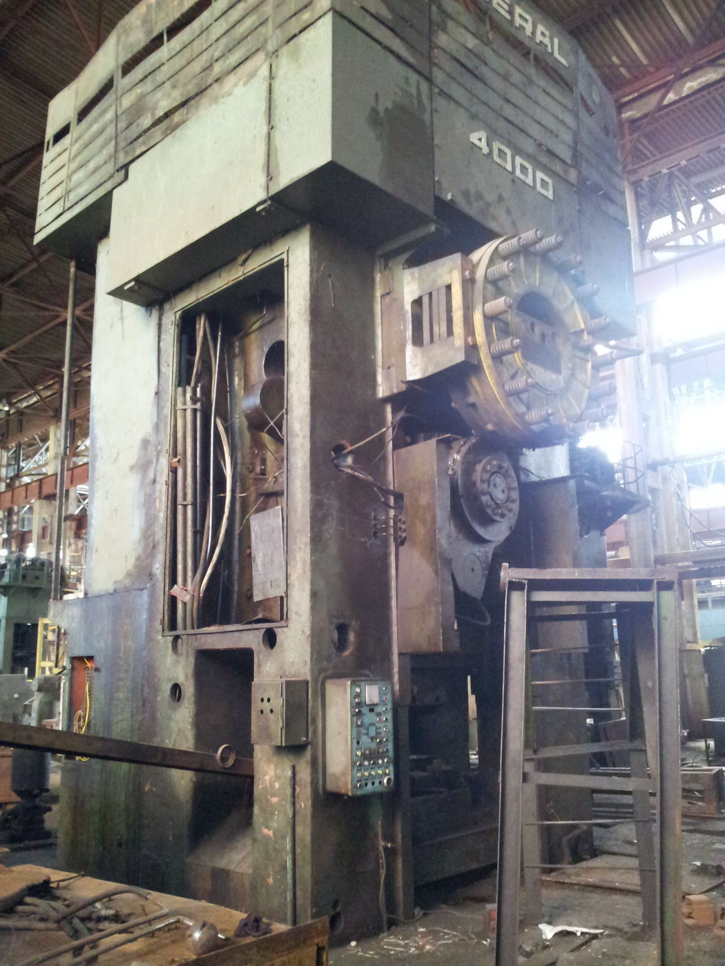 Hot forging press Smeral LZK 4000 ton