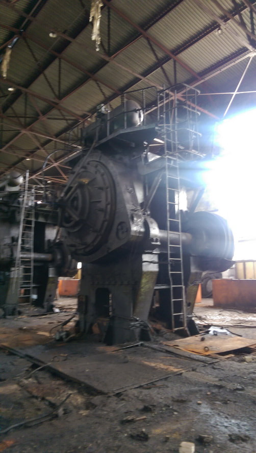 Hot forging press Voronezh K 8544 2500 ton