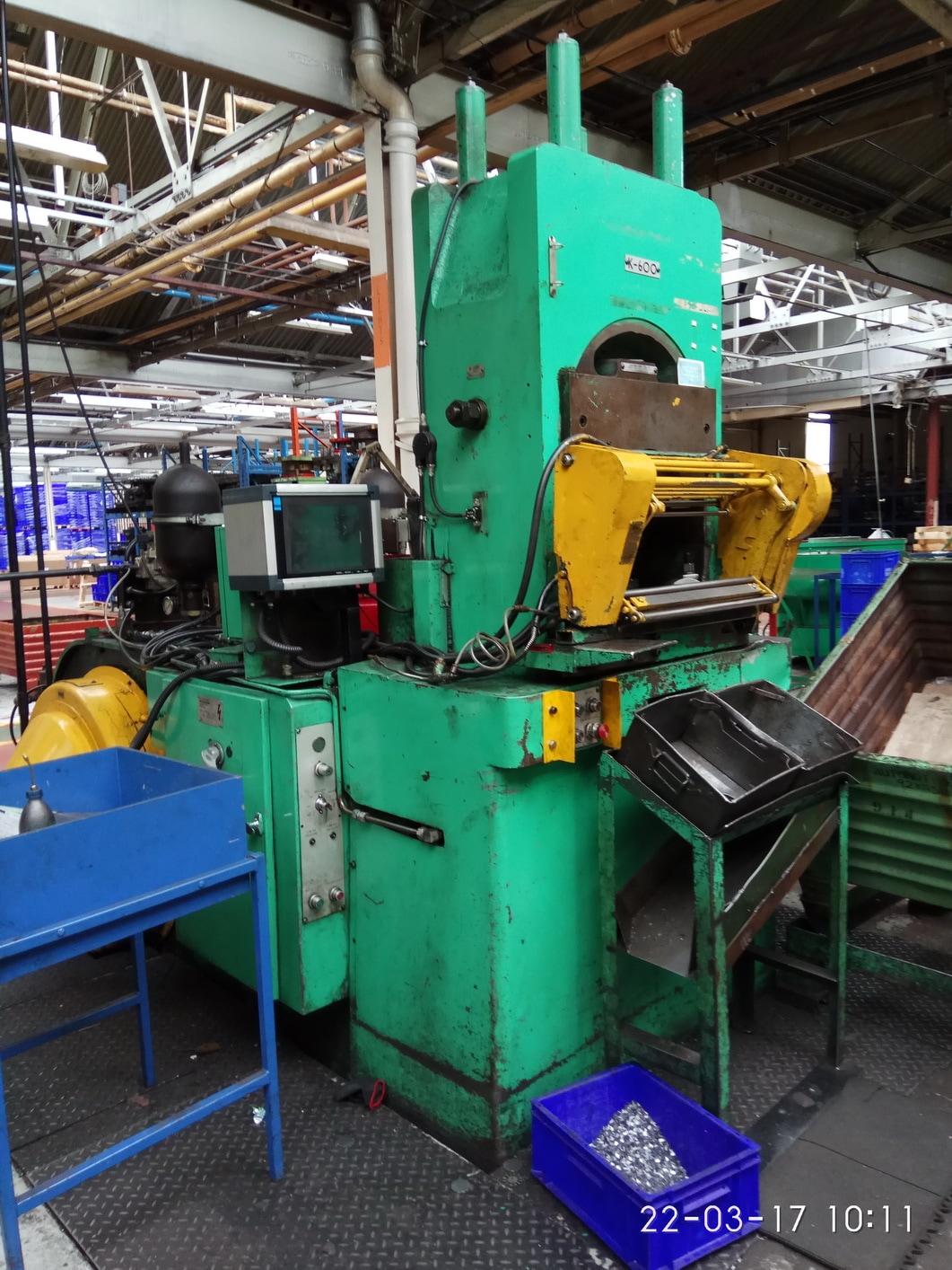 Knuckle joint power press Cincinnati HME K600