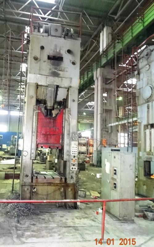 Trimming press Erfurt PKZe 500 ton
