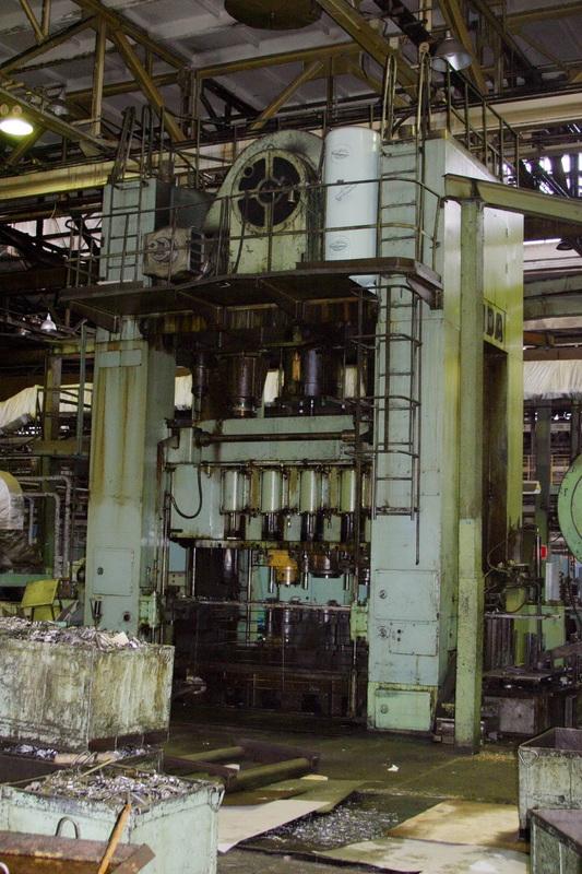 Central driven crank multiway press AIDA FTO-L50 500t