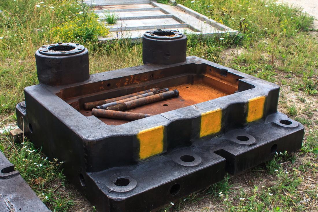Die holder for Hot forging presses