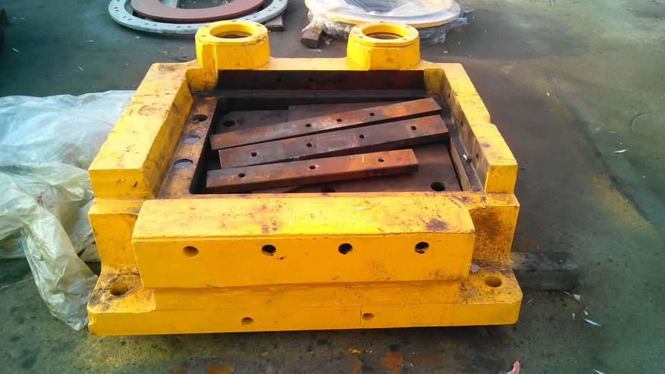 Die holder for SMERAL LKM 4000