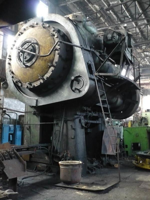 Hot forging press Smeral LKM 4000