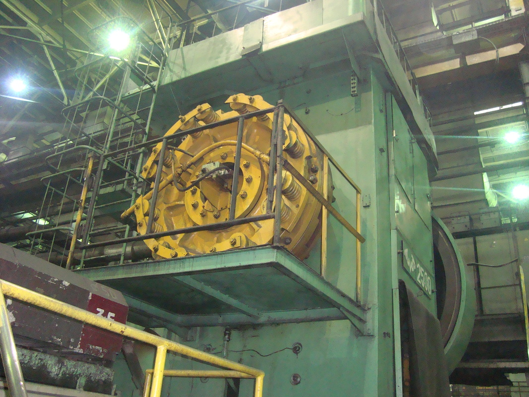 Hot forging press Voronezh AKKB 8544 2500 ton