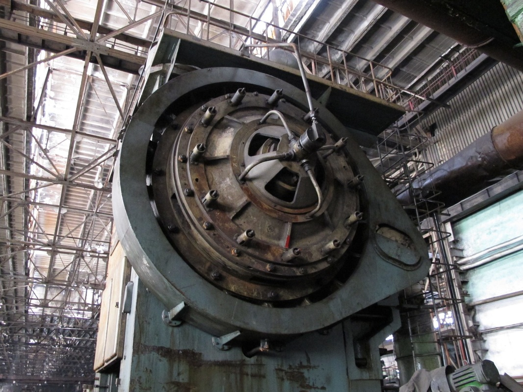 Hot forging press Voronezh KB 8546 4000 TON