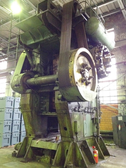 Hot forging press VORONEZH K8544 2500 TON