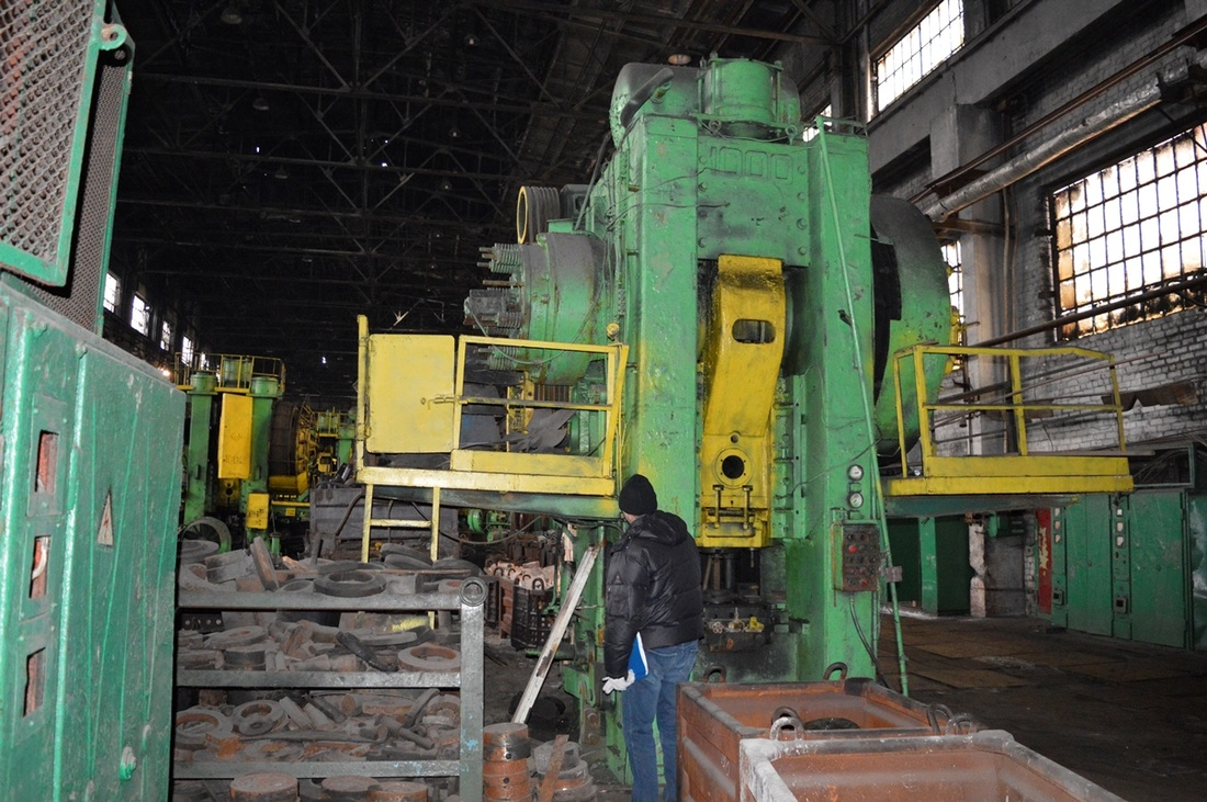 Hot forging press Voronezh K 8540 1000T