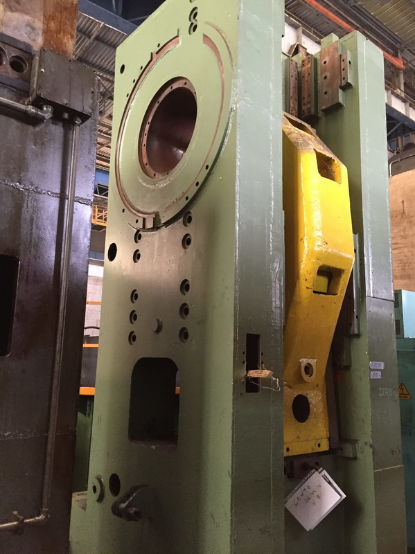Hot forging press Voronezh KB 8040 1000T