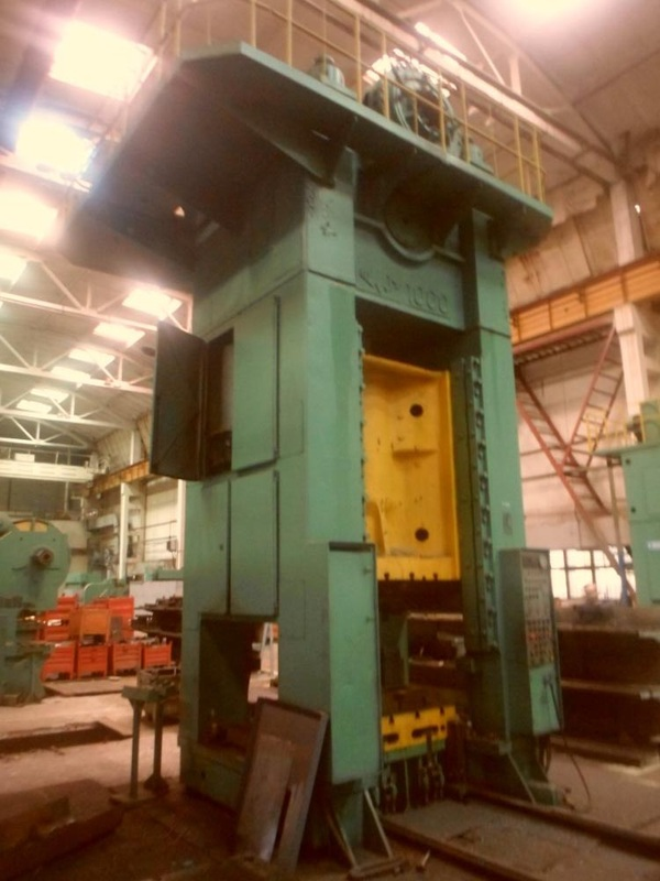 Trimming press Voronezh KB 2540 1000t