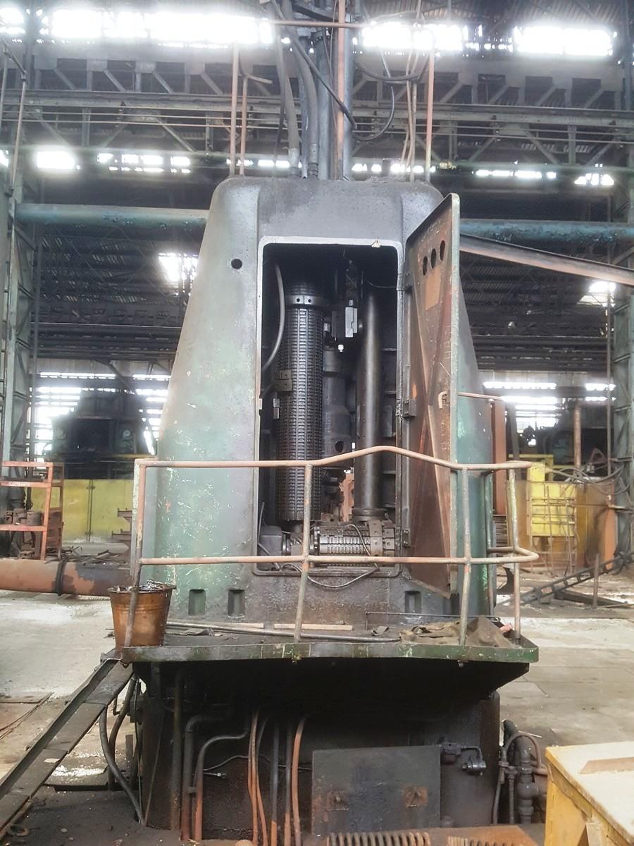 Radial-forging machine GFM