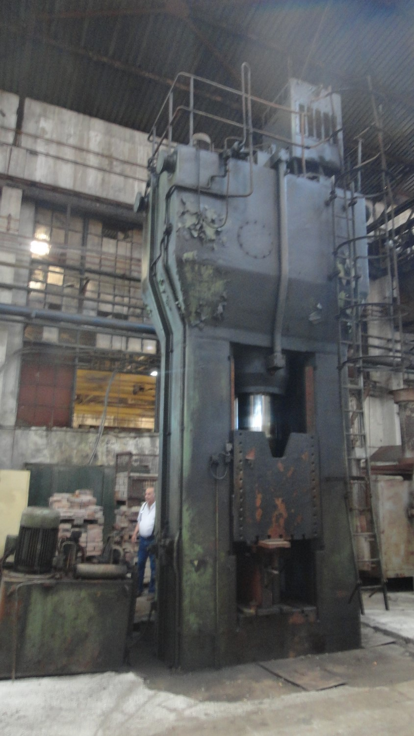 Hydraulic Press LASCO VPA 630 ton for Special offers