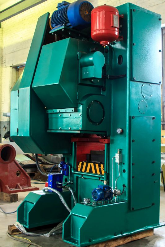 Modernized knuckle joint presses K 8340 1000t