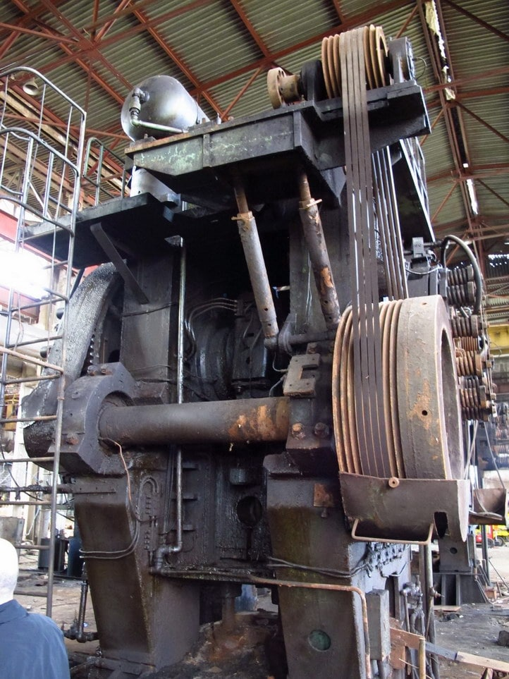 Hot forging press Voronezh K8542 1600 ton