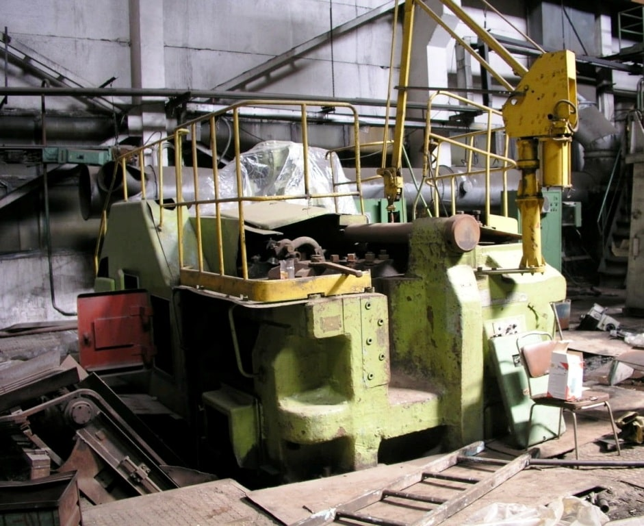 Horizontal forging machine V1139 800 ton