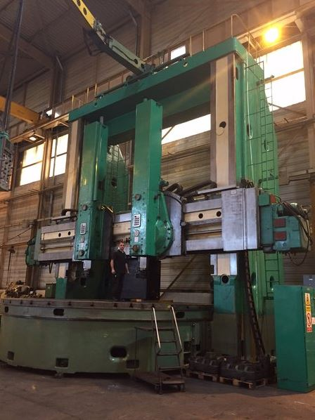 Vertical turning and boring machine Kolomna KU56