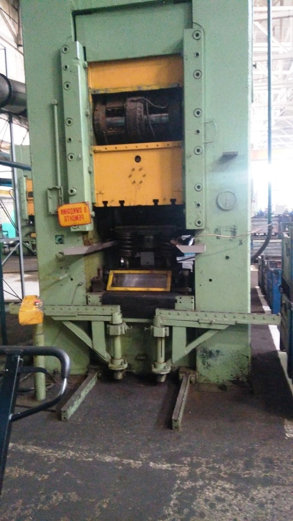 Knuckle joint cold extrussion press AC-5100 400T