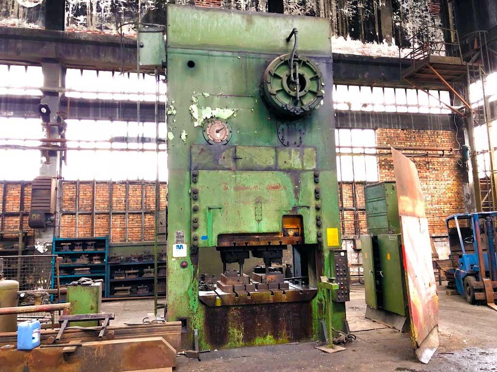 Trimming press Metalna KS 1000