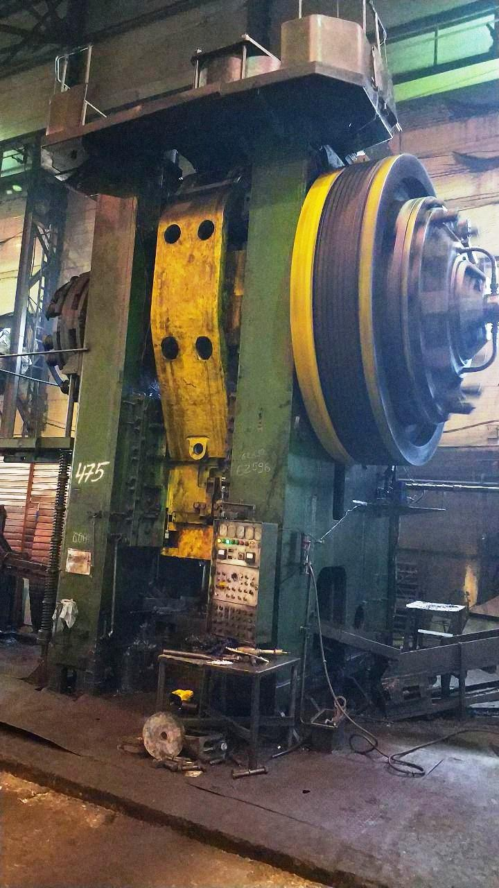 Hot forging press Voronezh KB-8544