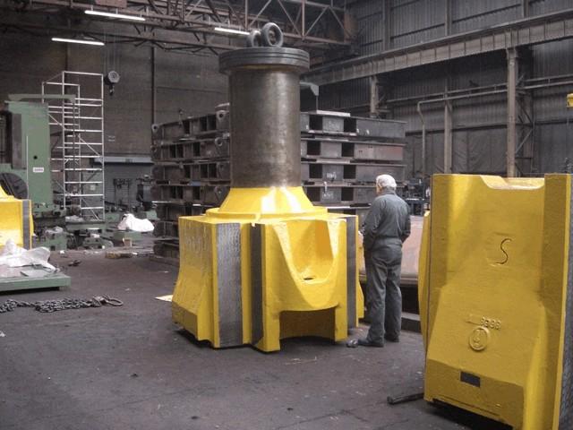 Counterblow hammer Beche DGH 25 ton