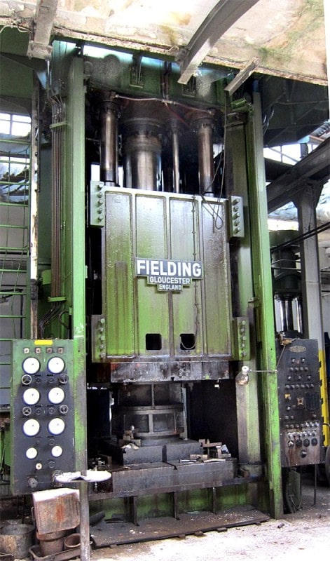 Hydraulic Press Fielding 1030 1000 ton
