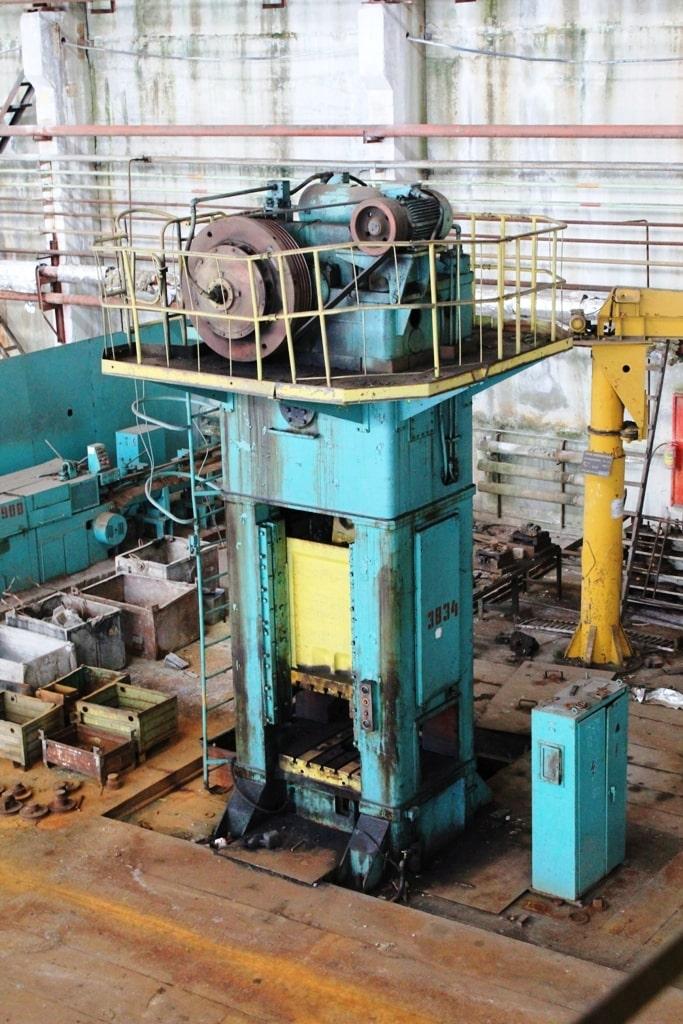 Trimming press Kuzlitmash KA9536 400 ton