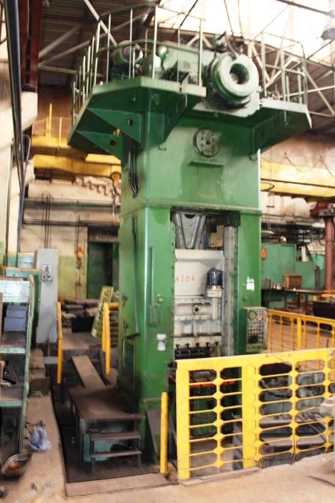 Trimming press Kuzlitmash KD9536 400 ton