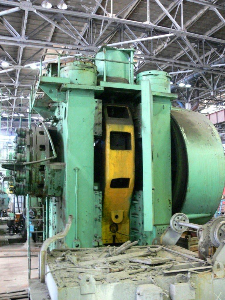 Hot forging press VORONEZH KB8542 1600 ton