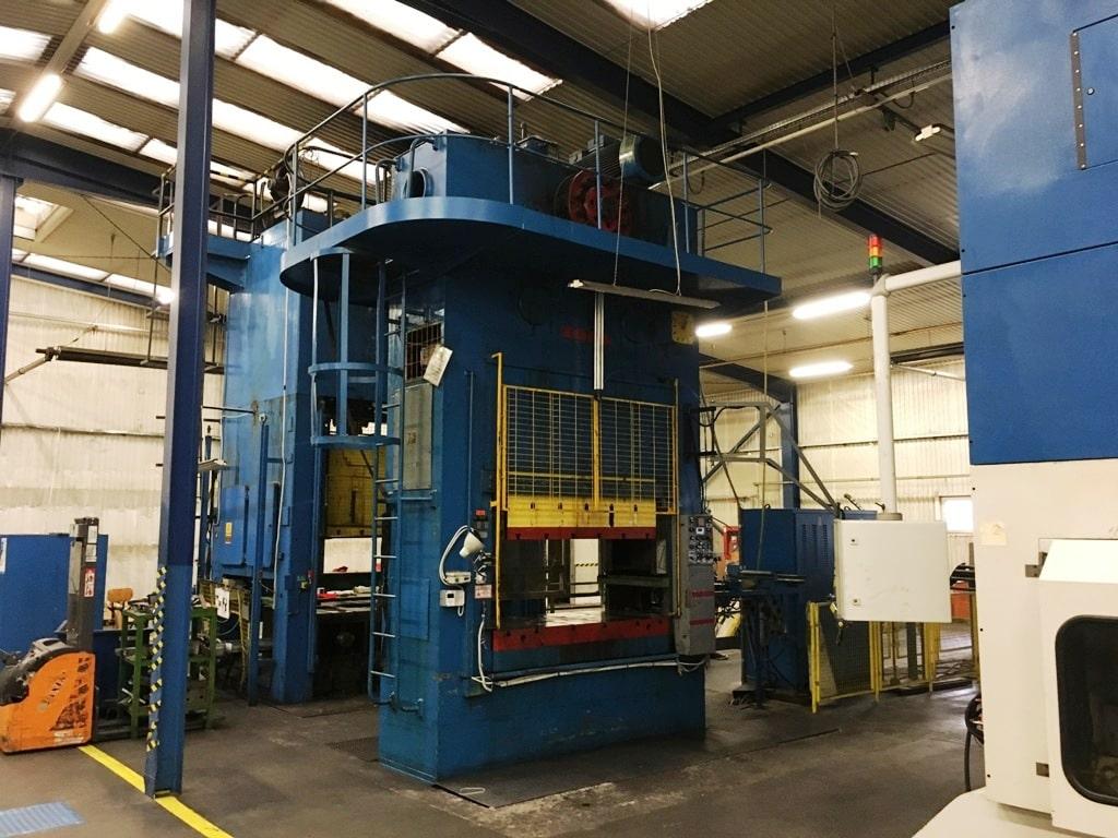 Trimming press ZDAS LUD 500 ton