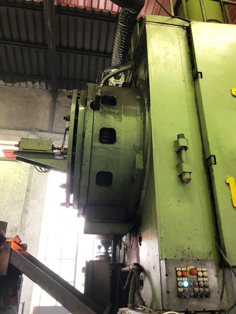 Hot forging press Voronezh KB8040 1000 ton