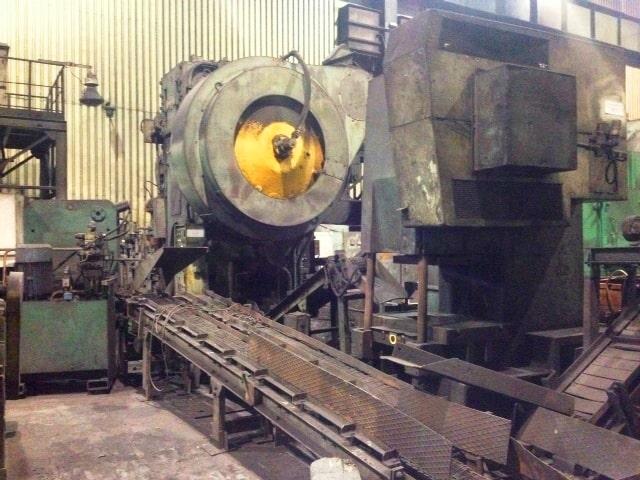 Hot forging press KOMATSU CAH 1000 ton