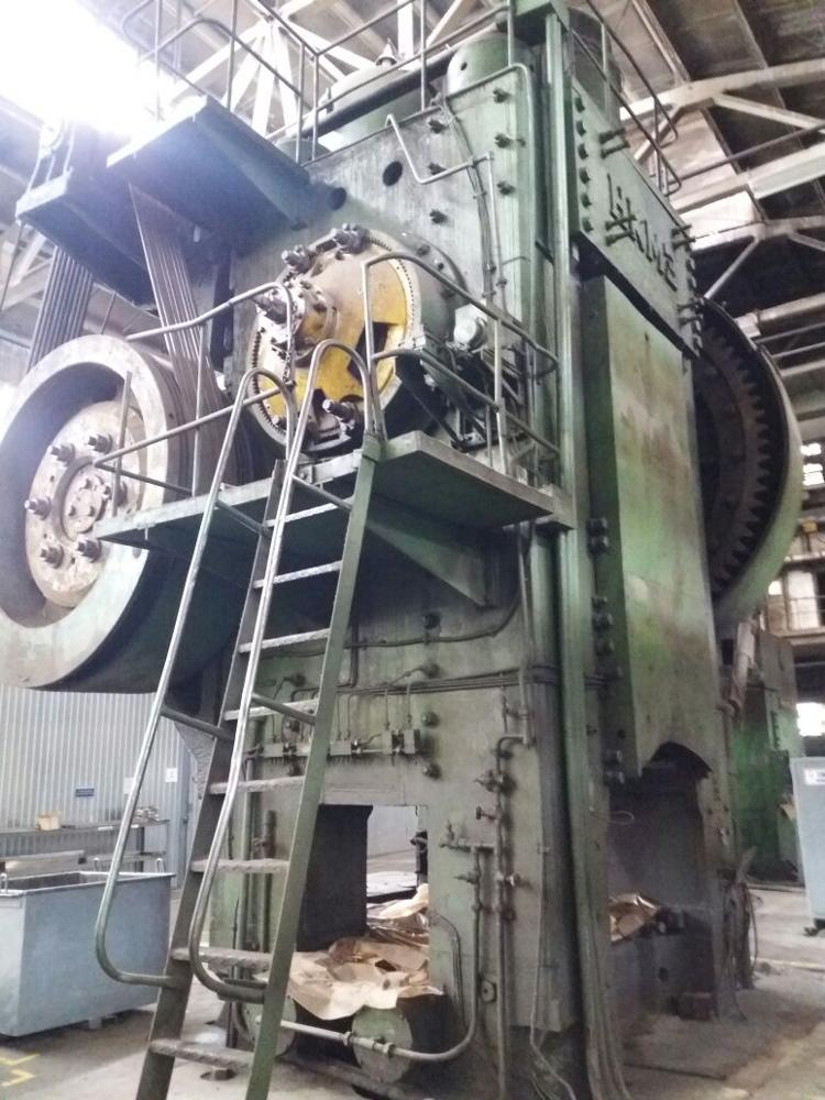 Hot forging press Kramatorsk K8546 4000 ton