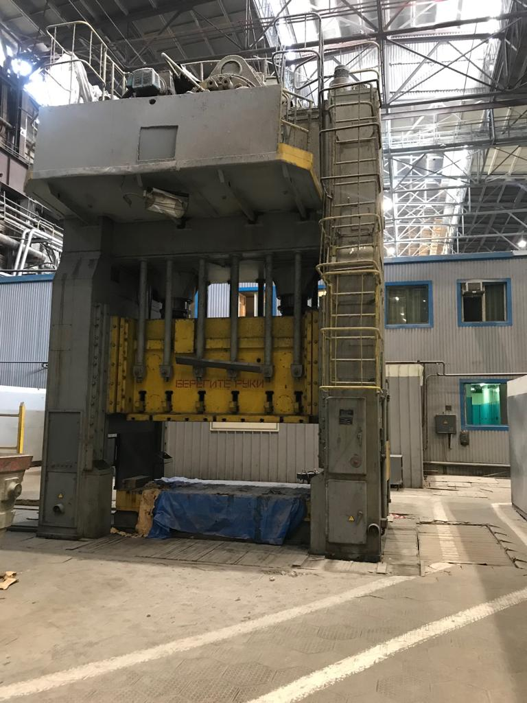 Sheet stamping press Voronezh K7039 800/500 ton