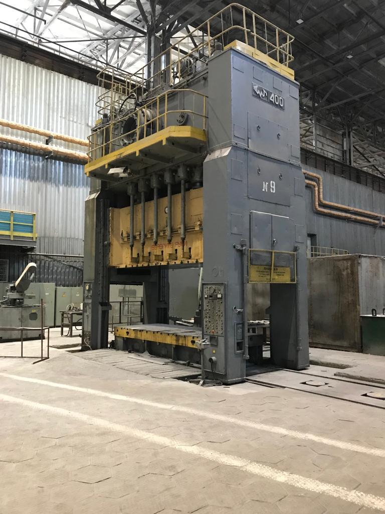 Sheet stamping press Voronezh K4036 400 ton