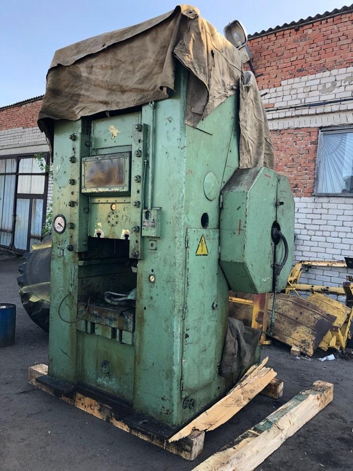 Knuckle joint press Barnaul K8338 630 ton