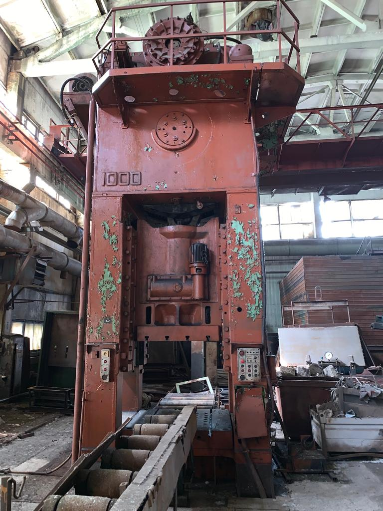 Trimming press Vorornezh K9540 1000 ton