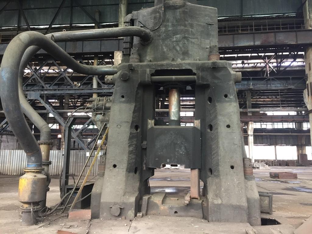 Forging hammer 25000 kg / 480 kJ