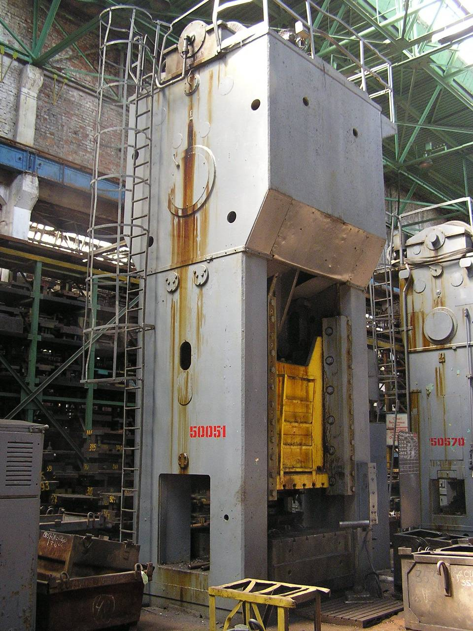 Trimming press Erfurt PKZe 1250 ton