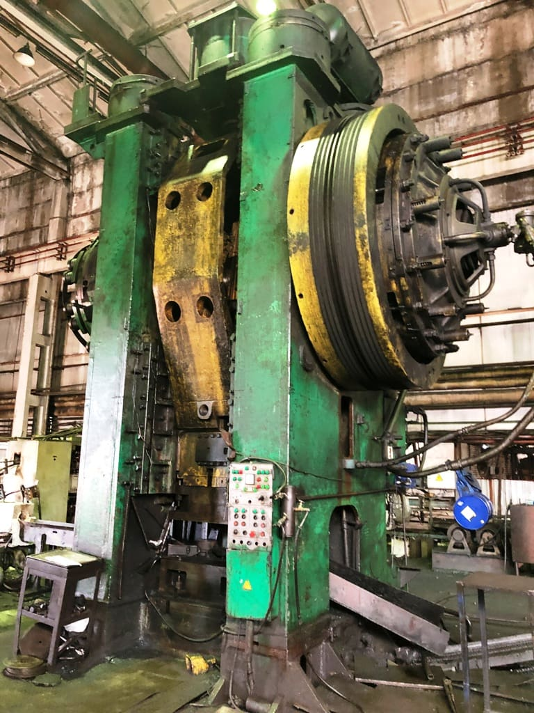 Hot forging press Voronezh KB8544 2500 ton