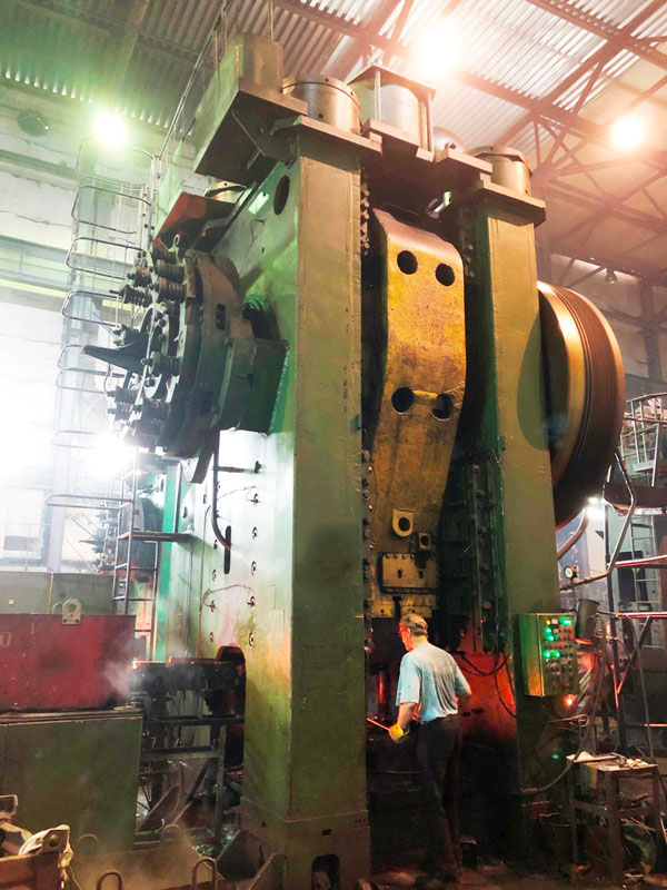 Hot forging press Voronezh KB8544 2500 ton