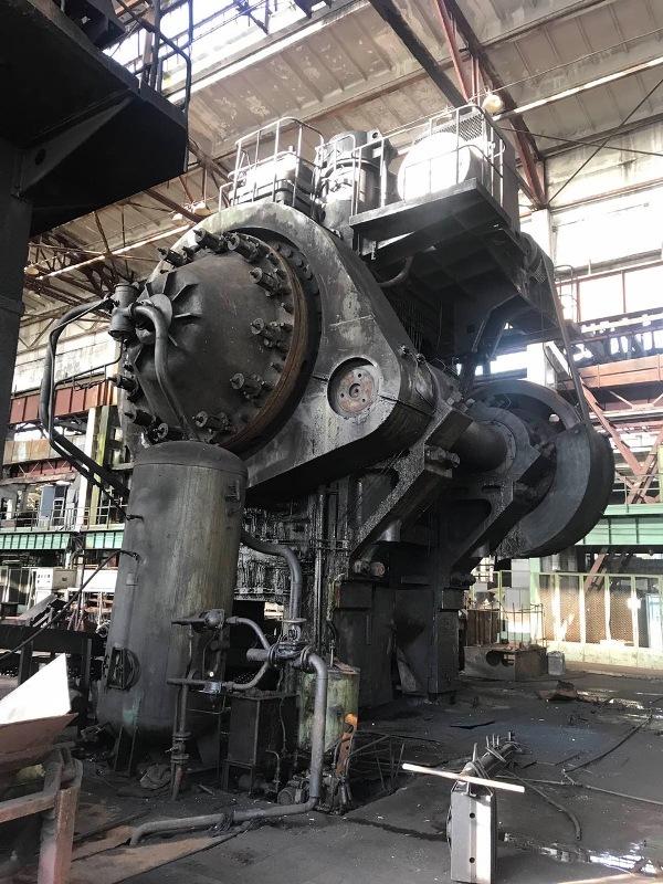 Hot forging press Kramatorsk K8548 6300 ton