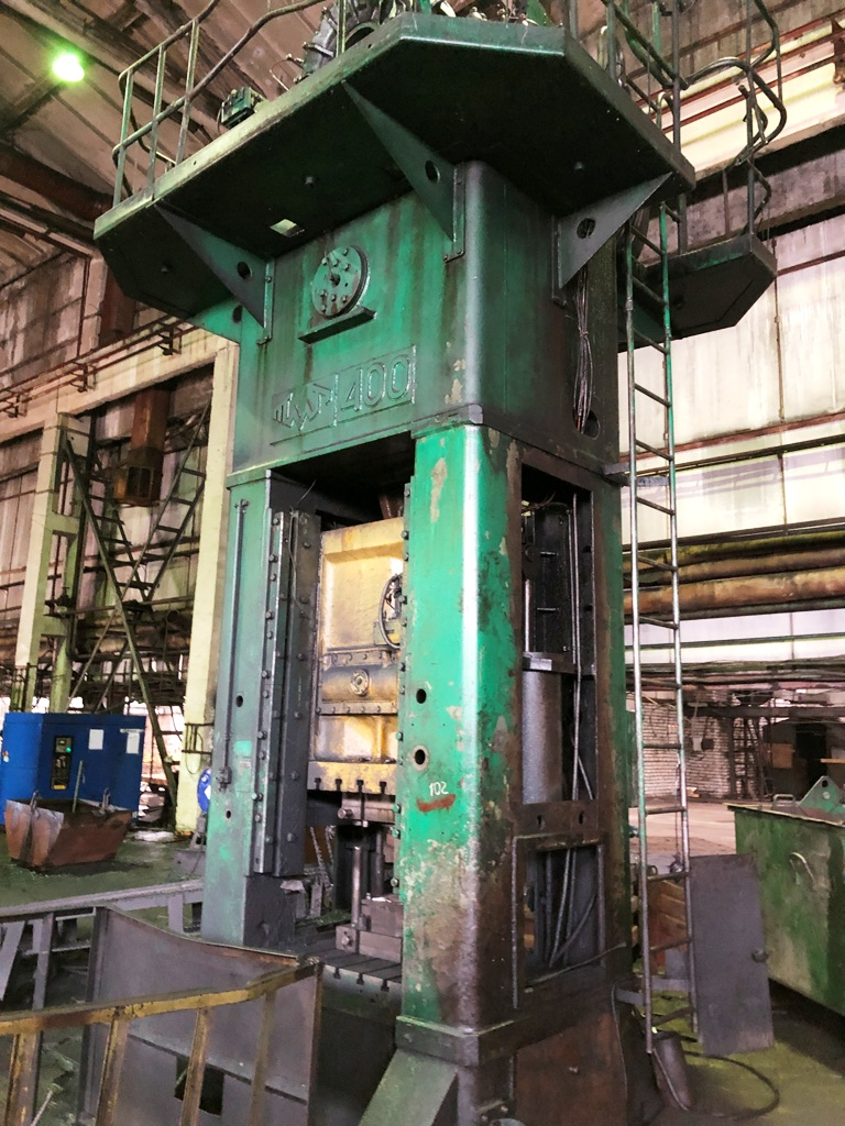 Trimming press Voronezh KA9536 400 ton