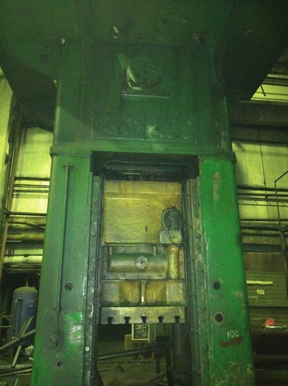 Trimming press VORONEZH KA 9536 400 TON